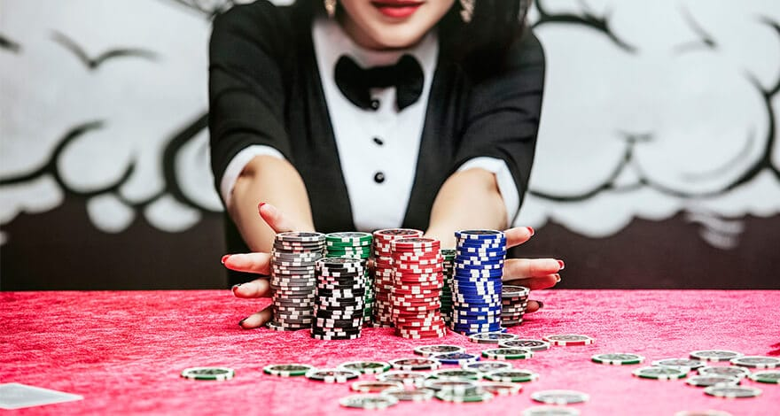 All About Luck in Online Poker